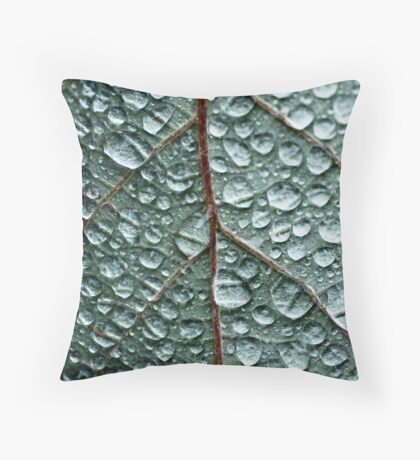 Drops Throw Pillow