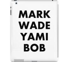 MARK|WADE|YAMI|BOB Youtubers iPad Case/Skin