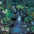 landscapes of the northern rivers by Maria Paterson  by maria paterson