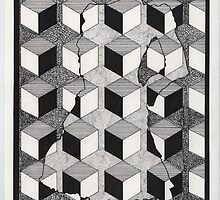 138 - ELEGANCE DISGUISED - DAVE EDWARDS - INK - 1987 by BLYTHART