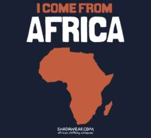 I come from Africa One Piece - Long Sleeve