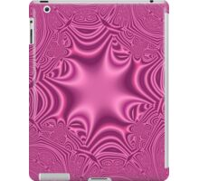 Purple abstract cross pattern iPad Case/Skin