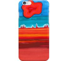 Desert Cities original painting iPhone Case/Skin