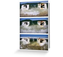it's about to get wet! Greeting Card