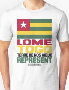Lome, Togo, Represent T-Shirt