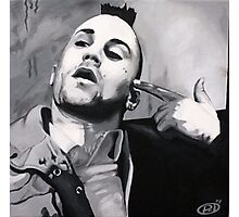 Travis Bickle in b&w Photographic Print