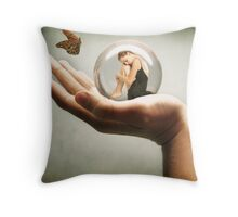 prison Throw Pillow