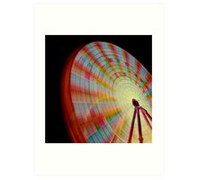 A Swirl of Colour 2 Art Print