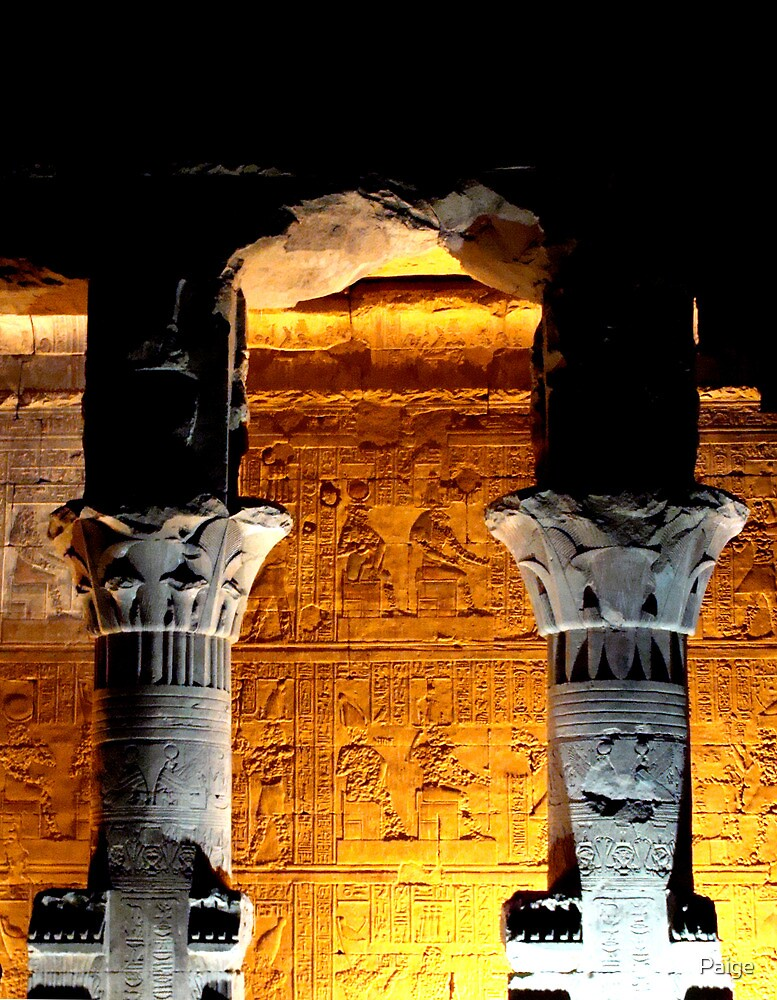 Luxor Temple by Paige