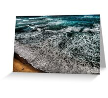 Insignificance - Gibsons Steps , Great Ocean Road - The HDR Experience Greeting Card