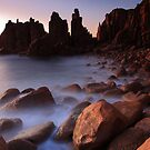 seashore Silhouette by Donovan Wilson