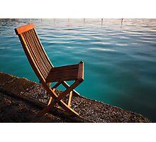Chair Bro Photographic Print