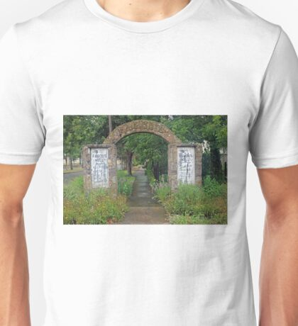 Famous Mineral Water Arch Unisex T-Shirt