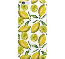 Lemons. Watercolor iPhone Case/Skin