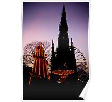 Christmas on Princes Street Poster
