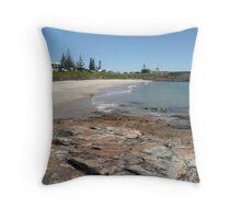 Horseshoe Bay, Sth. West Rocks, N.S.W. Australia. Throw Pillow