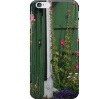 Green door iPhone Case/Skin