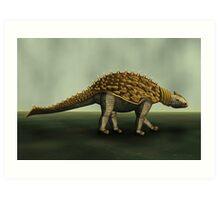 Armoured Dino Art Print