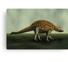 Armoured Dino Canvas Print