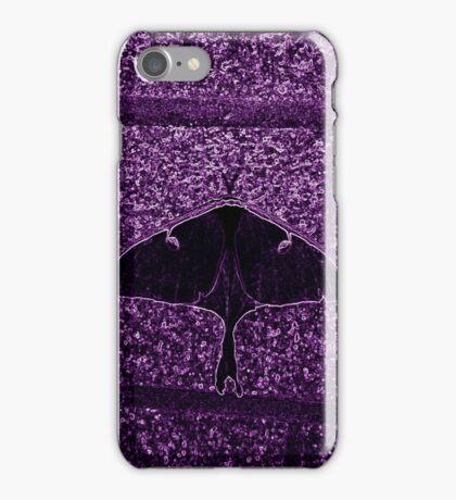Neon Moth iPhone Case/Skin