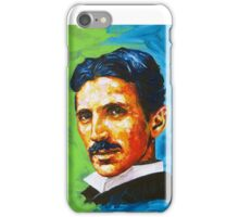 The Great Inventor - A Nikola Tesla Tribute iPhone Case/Skin