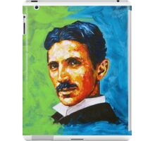 The Great Inventor - A Nikola Tesla Tribute iPad Case/Skin