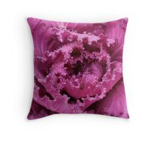 Lovely Purple-reddish  flora Throw Pillow