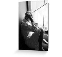 Morning Contemplation Greeting Card