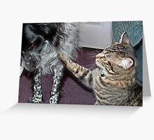 Jasper and Precious Greeting Card