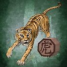 Chinese Zodiac - The Tiger by Stephanie Smith