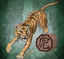 Chinese Zodiac - The Tiger by Stephanie Smith