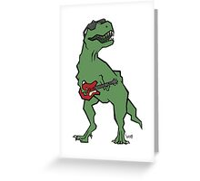 T-Rocks Greeting Card