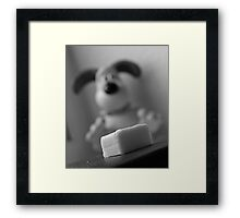 Time for cheese! Framed Print