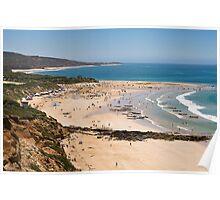Summer Surf Carnival,Anglesea. Poster