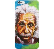 Albert Einstein Tribute iPhone Case/Skin
