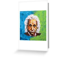 Albert Einstein Tribute Greeting Card