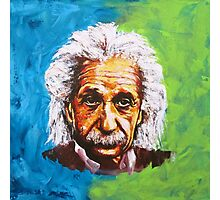 Albert Einstein Tribute Photographic Print