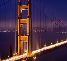 Above the Golden Gate two by Justin Baer