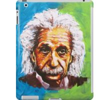 Albert Einstein Tribute iPad Case/Skin