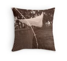 Is That Your Bag on the Wire? Throw Pillow