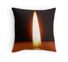 To Hold a Flame Throw Pillow