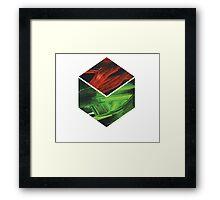 Cube Framed Print