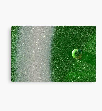 Shadows in Green Canvas Print