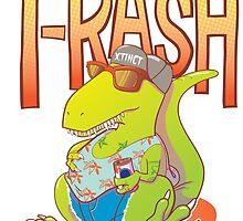 T-Rash in Orange/Blue by HeyRockee