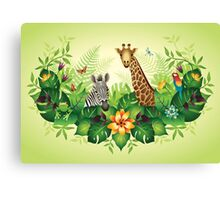 Jungle Magic Canvas Print