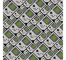 GB PIXEL PATTERN Photographic Print