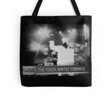 Toronto supports the Olympics!  Tote Bag