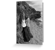 Castaways: Cliffside Longing Greeting Card
