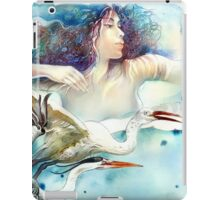 """""""Dancing with Birds"""" - drawing  iPad Case/Skin"""
