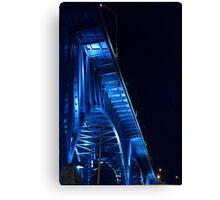 """Cleveland Memorial Shoreway Bridge"" Canvas Print"